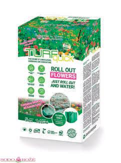 Tekstilė gėlėms FIelds Flowers 5m2 pakuotė