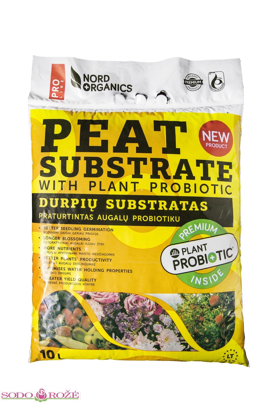 Universalus substratas su Augalų Probiotiku (10l)